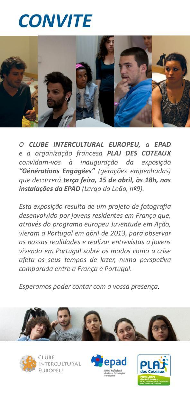 Générations engagées, uma exposição franco-portuguesa