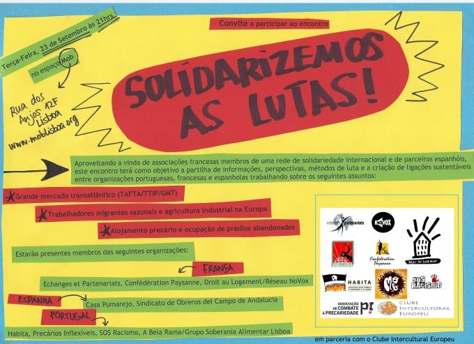 Solidarizemos as lutas