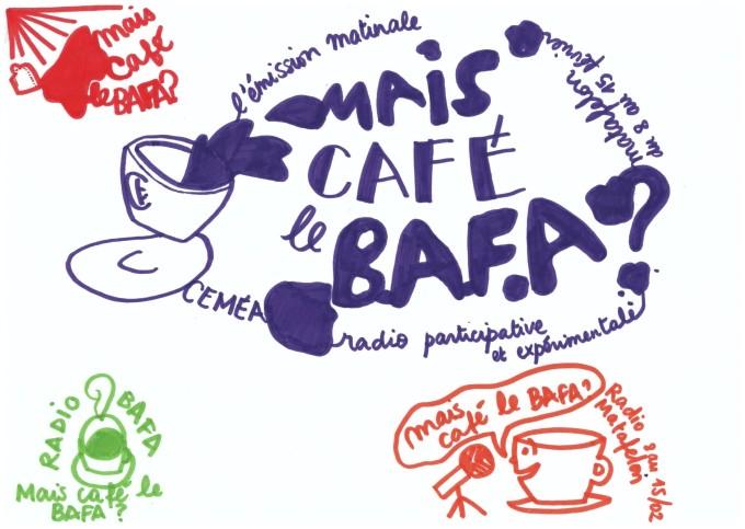 logo Mais Café le BAFA